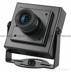 3.7mm pinhole lens Mini Camera Spy Hidden Security 700TVL Cameras With Bracket