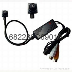 1 / 4 SONY 420TVL Color Ultra Mini CCD camera