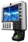 中控iClock2000 超寬屏多媒體自助指紋考勤機