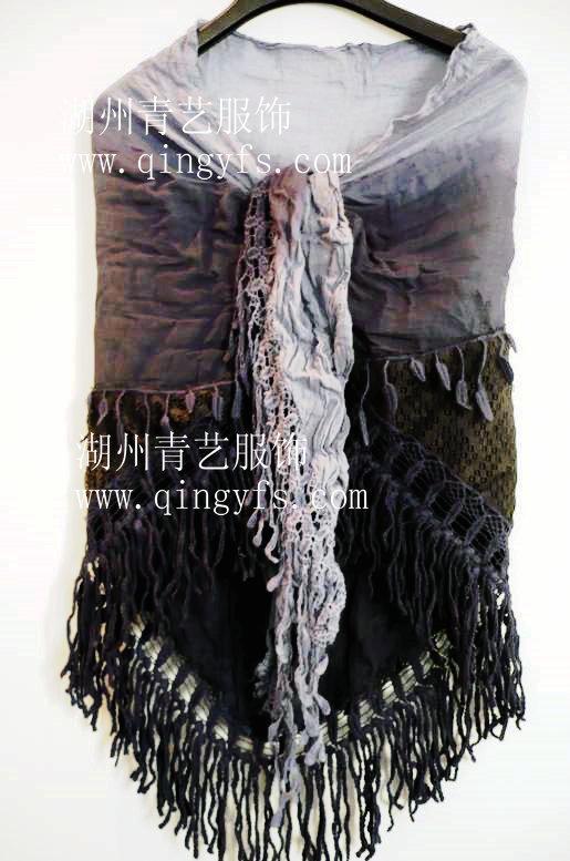 围巾吊染 4