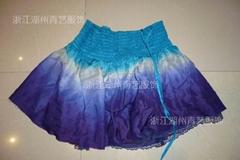 多色成衣服装吊染真丝服装加工