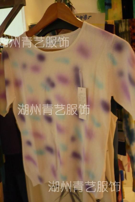 成衣QY服飾特殊扎染加工 3