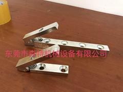 耐高溫壓合承載盤上彈簧夾防滑夾擋塊保護條定片