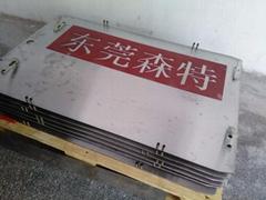CCL覆銅板鋁基板廠壓機MALL LAM壓合承載盤鋼板下底板上蓋板