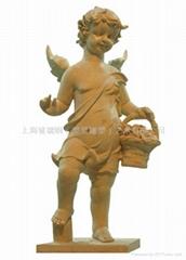 上海砂岩人物雕塑