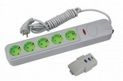Smart and energy saving sockets series