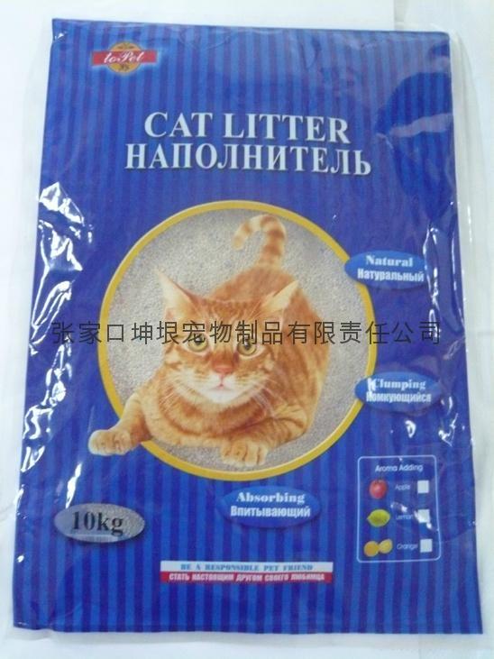 10kg Irregular cat litter0.5mm-1.5mm 1