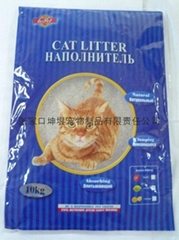 10kg Irregular cat litter0.5mm-1.5mm