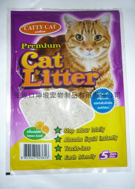 5L No dust spherical cat litter 1