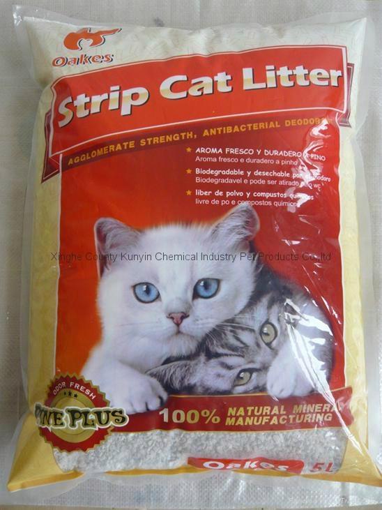 5L strip  cat litter  1