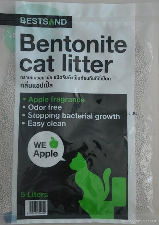 5L apple flavor irregular cat litter