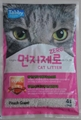 4L peach flavor ball cat litter