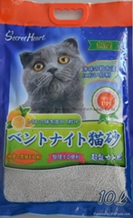10L dust free strip cat litter