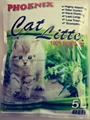 5L apple scent strip cat litter
