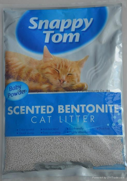 1mm-4mm no dust spherical cat litter