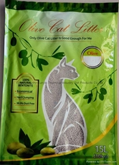 15L no dust ball cat litter