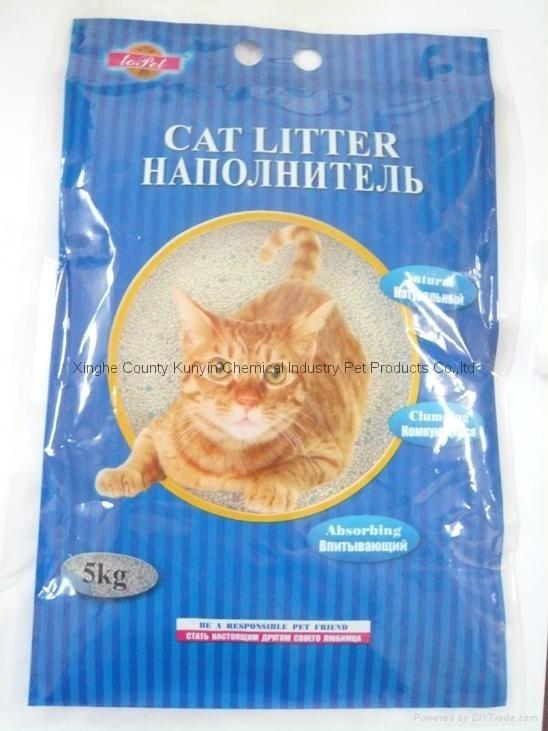 5kg spherical cat litter 0.5mm-1.5mm 1