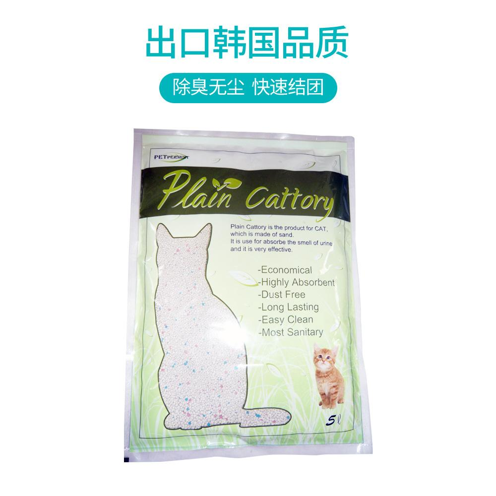 5L Korean no dust ball cat litter  1