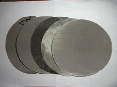 过滤色母颗粒专用不锈钢网