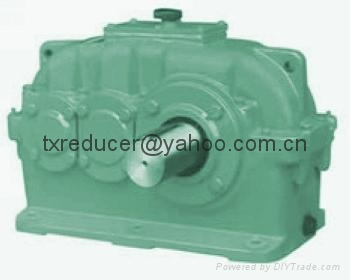 ZLY reducer gearbox Hard gear face cylindrical gear speed reducer 2