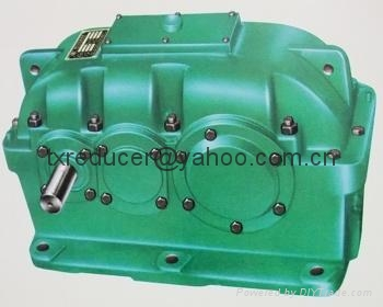 ZLY reducer gearbox Hard gear face cylindrical gear speed reducer 3