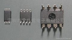 华虹NEC原装EEPROM存储器:K24C04 SOP-8