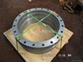 Export large diameter flange.