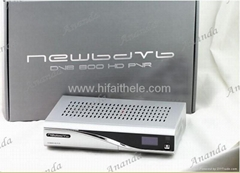 white box oem dreambox dm800hd satellite receiver.