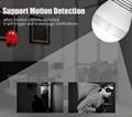 WIFI connection panoramic camera P2P hidden bulb IP camera surveillance HD 1080P 5