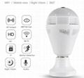 WIFI P2P Lamp Bulb DVR IP camera HD 960P