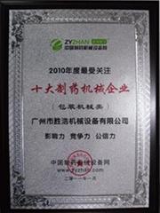 Guangzhou sheng hao machinery equipment co., LTD