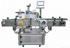 Round bottle labeling machine automatic positioning
