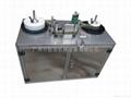 Label printing and rewinding machine