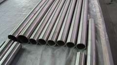 Titanium tube for heatexchanger