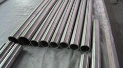 Titanium tube for heatex