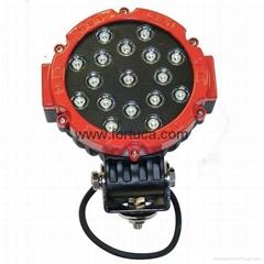 12V 24V 51W led working light,tractor work light,4WD led driving light