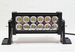 7.5'' 36W 4x4 led driving light bar,36w led flood light offroad