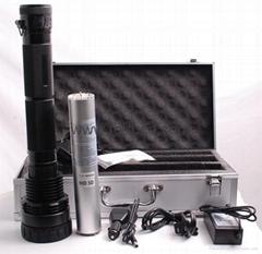 75W HID Flashlight with 7800mah /Torch Light/Spotlight/HID Camping Light