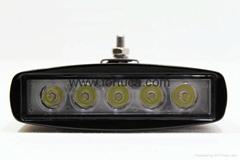 15W LED lightbar Off road Slim Work Light Lamp 12V/24V for car Truck 4WD 4X4