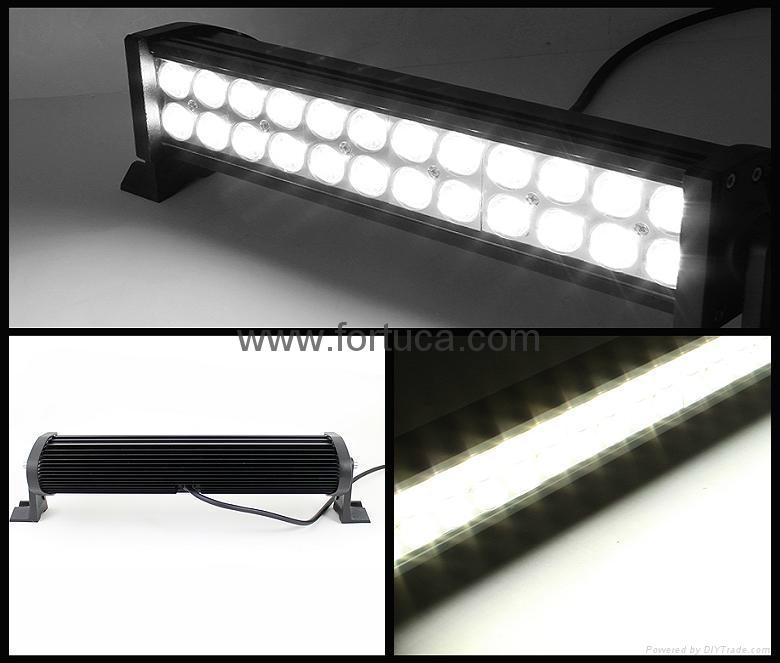 high intensity 72w led driving light bar 4x4 light bar off. Black Bedroom Furniture Sets. Home Design Ideas
