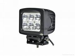 10-30V 60W CREE LED Work Light,6000 Lumen 6pcs*10w 60W LED Working Lamp/Fog Ligh