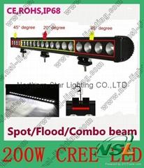 38 inch 200W High Power LED Light Bar ,LED Off -road Light,CREE LED Light Bar