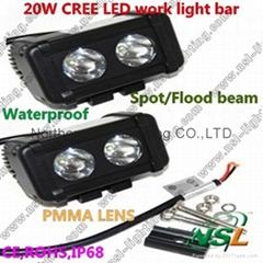 4.5'' Spot/Flood 20W LED