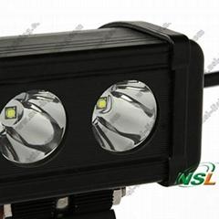 4.5'' Spot/Flood 20W LED Light Car LED Driving Light Bar 10-70V Stainless Steel