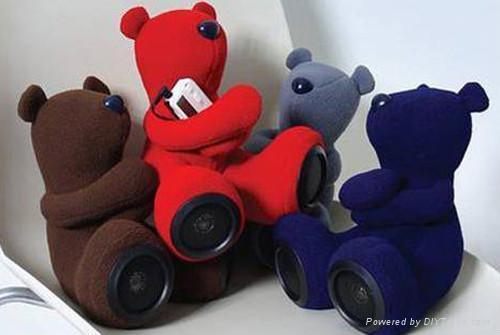 Plush Bear Shape Speaker 1