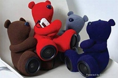 Plush Bear Shape Speaker