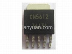 低壓差大功率發光二極管(LED)驅動集成電路 CN5612