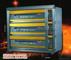 Luxurious electric deck Oven
