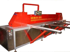 Hot selling high frequency automatic plastic sheet opens saw