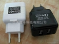 2.1A Dual USB Tavel Charger for ipad